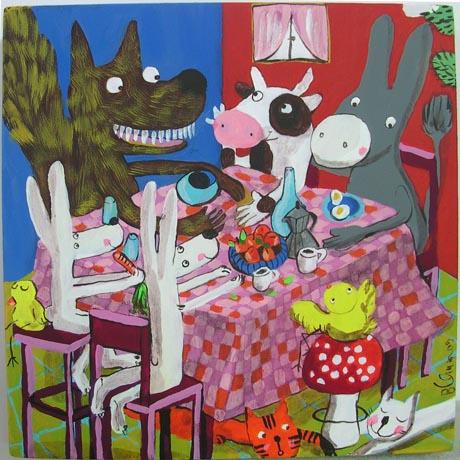 0010 - Amici a tavola