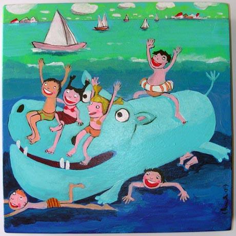 0005 - Ippopotamo delfino