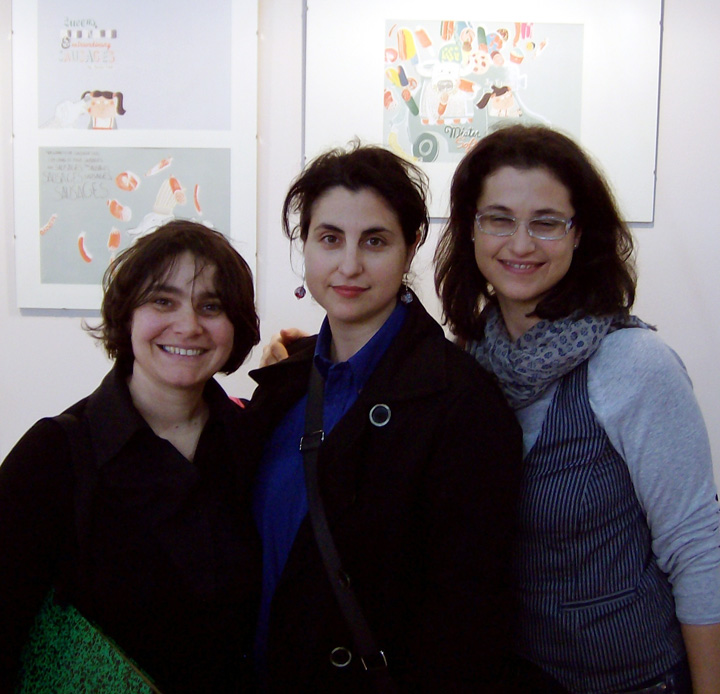 con sorelle Mazzoli