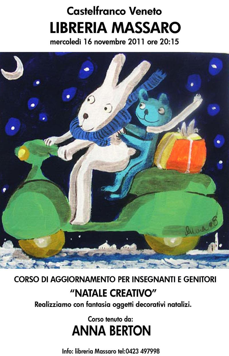 Anna Berton libreria Massaro 2011