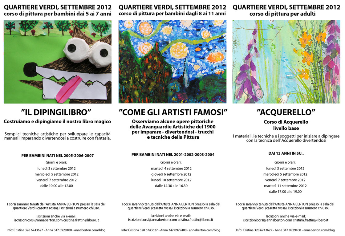 Anna Berton Quartiere Verdi Settembre 2012