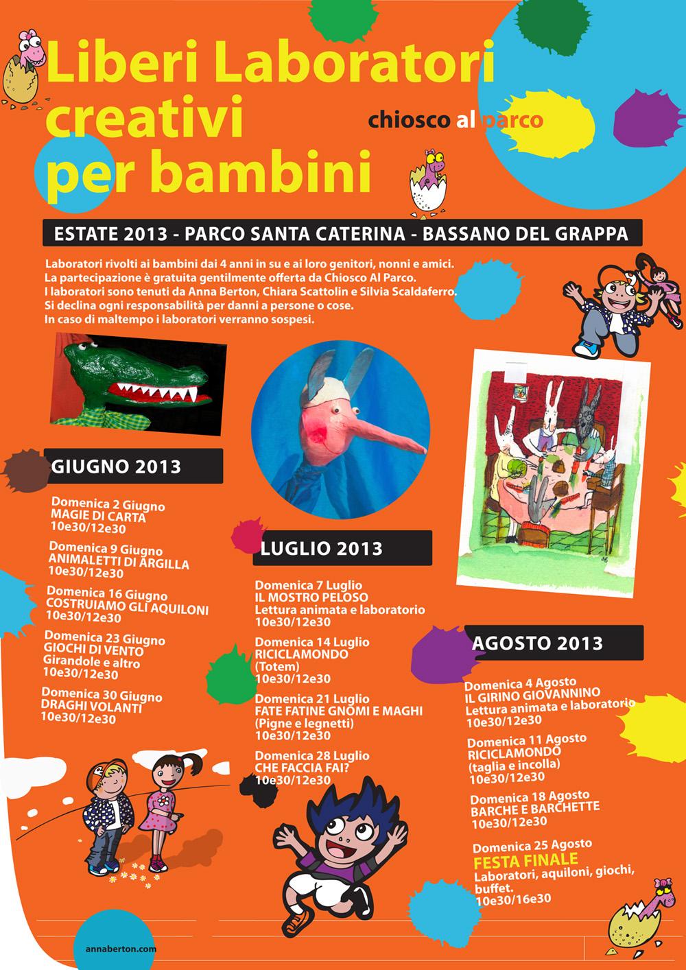 Anna Berton Parco Santa Caterina Bassano Estate 2013