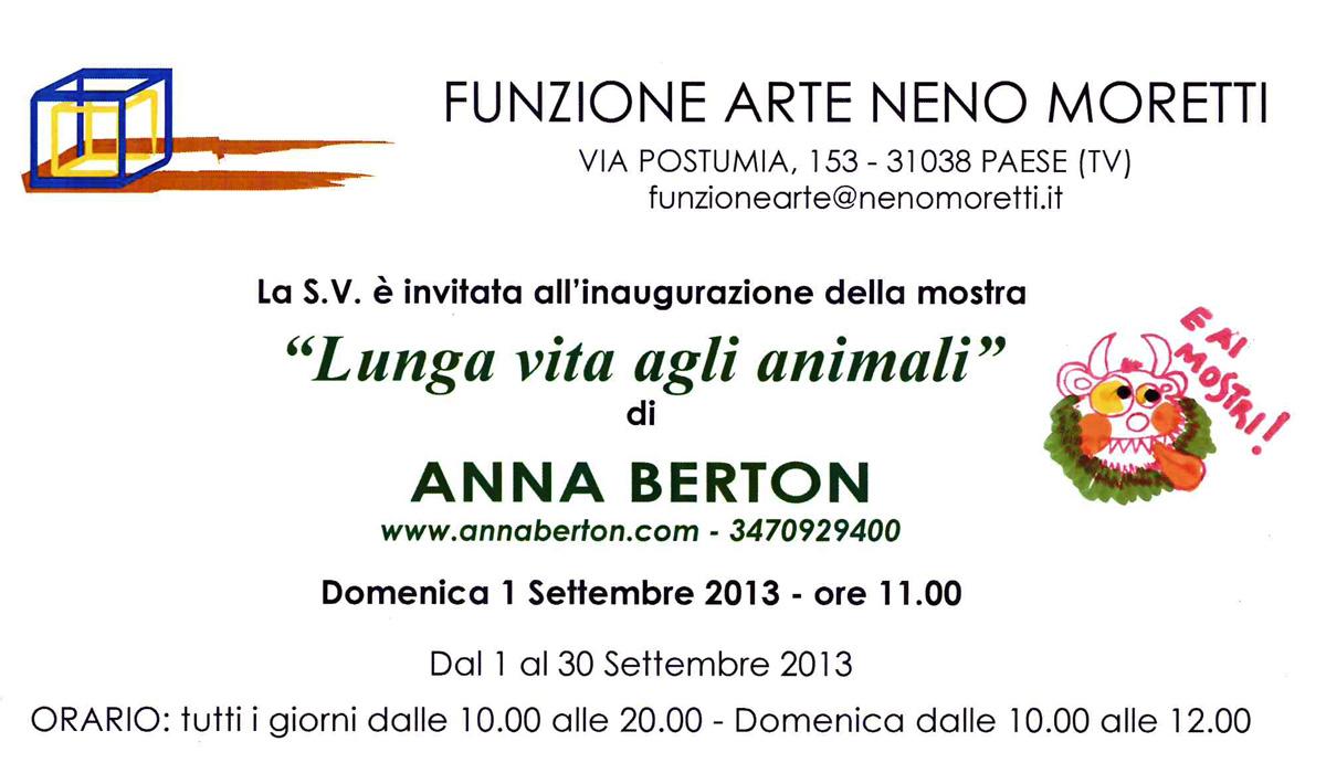 Anna Berton Fondazione Moretti Treviso 2013